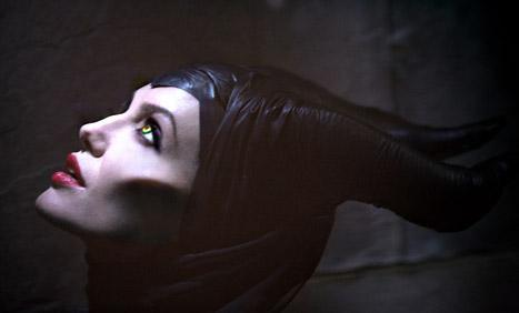 Maleficent as portrayed by Angelina Jolie.