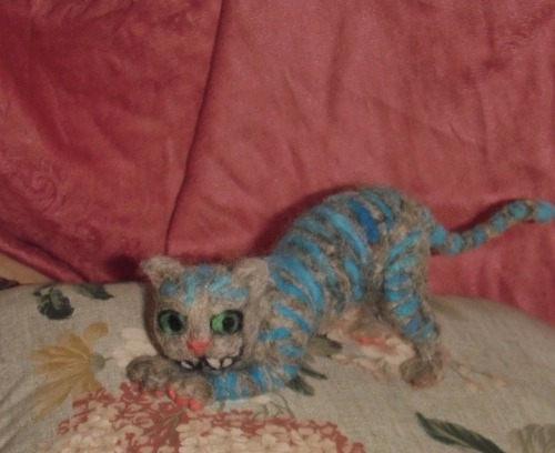 Needle Felt Cheshire Cat