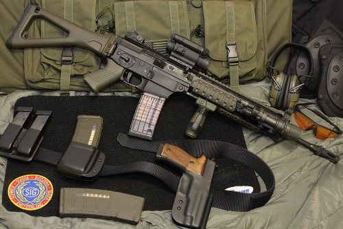 attacktics:  SIG 556  Baby come to me…