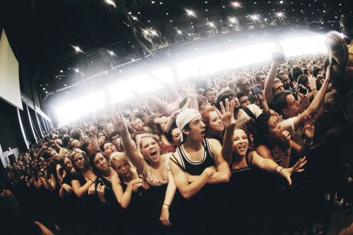 Taking back Sunday crowd (by samdesantis)