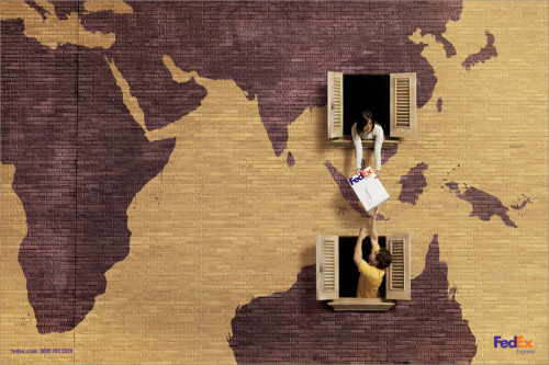modernations:  Fedex advertising, what if it was really this simple?!