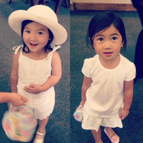 Cutest littlest cousins in the world! @d_chea @socold57 @crystal__yang (Taken with Instagram)