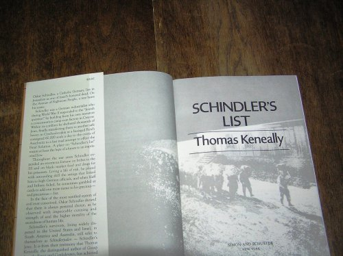 """Whoever saves one life, saves the world entire.""  Read of the Day: Schindler's List by Thomas Keneally  This award-winning novel is available from online retailers for as little as ten dollars."