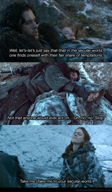arrestedwesteros:  Michael: Well, let's-let's just say that-that in the secular world, one finds oneself with their fair share of temptations. Not that anyone would ever act on… Oh, no, no. Stop. Mrs. Veal: Take me. Take me to your secular world. Meet the Veals - 2x16 submission from Eric Chan  Take me to your secular world.