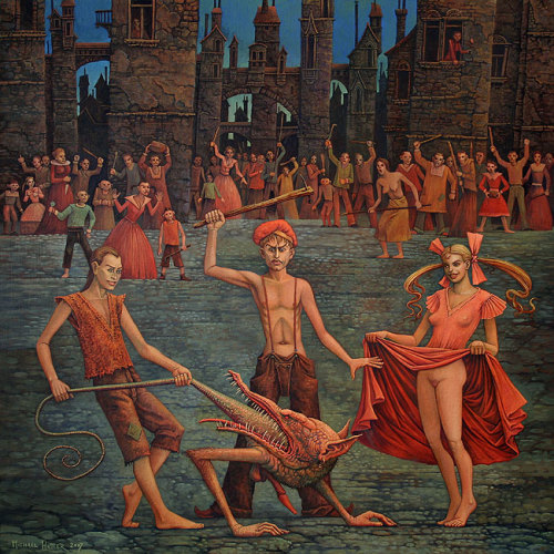 """Games in Purgatory"" by Michael Hutter"