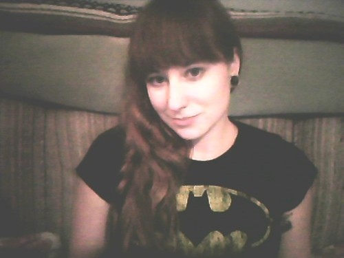 oh look, another girl in another batman shirt