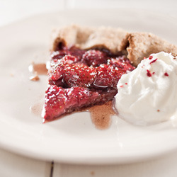 Strawberry Balsamic Galette
