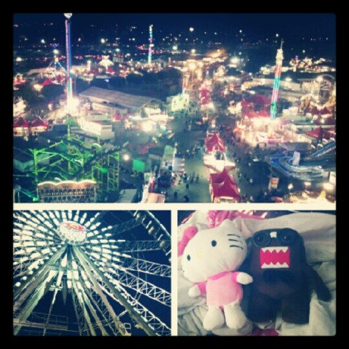 #ocfair #instagood #instamood #granda #ferriswheel #prettylights #winnings #domo #hellokitty #fun #costamesa #weekend #igtrend #ighub #date #couples #romantic #goodnight (Taken with Instagram)