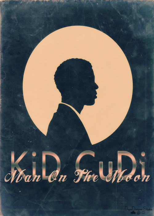 yeacudders:  Cudi Poster I Made :P | Submitted by: smileytherager.tumblr.com