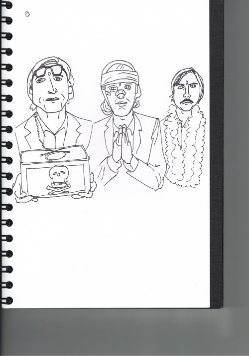 Darjeeling Limited sketch