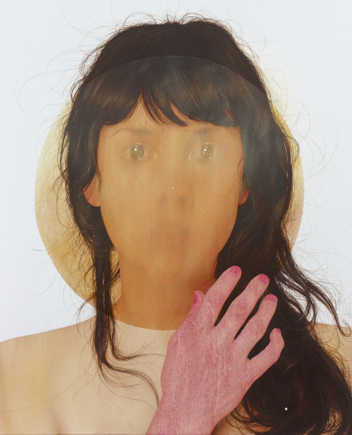 "Jenny Morgan ""Channeling"" oil on canvas, 30 x 20 in, 2012"