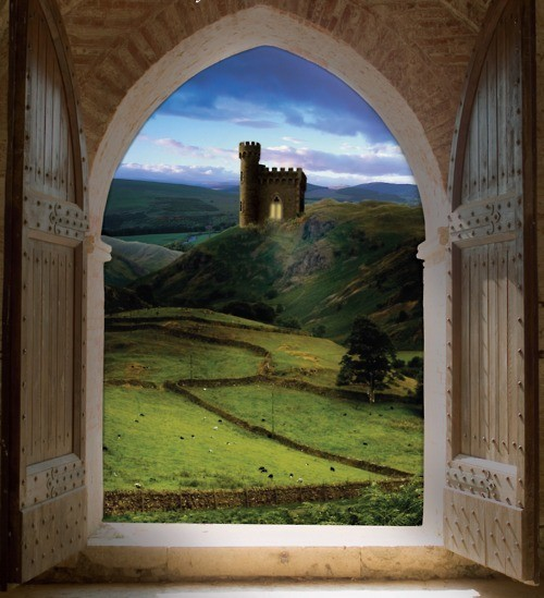 Castle View, Wales @pinterest.com