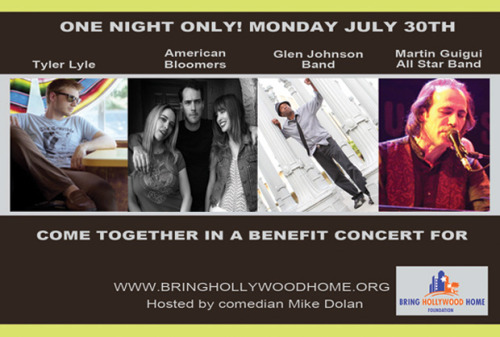 Mike Dolan will be hosting a great night for a great cause! Tickets available online at www.bringhollywoodhome.org. Wonderful networking! Come out and make a difference keeping jobs in California in the entertainment industry is possible if we care enought to raise the roof and make a noise!