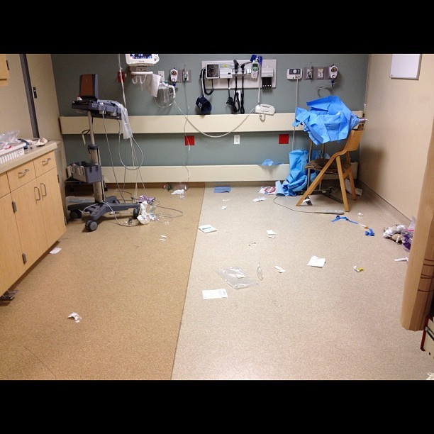 Emergency Room - #ems #ed #er #hospital #emergency #lifedeath (Taken with Instagram)