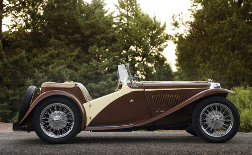 desertmotors:  1948 MG TC Roadster