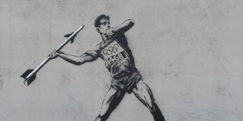 Banksy Olympic Art