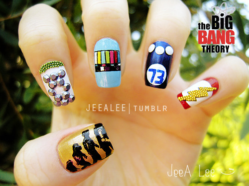 Sheldon's Favorite Tees Nails