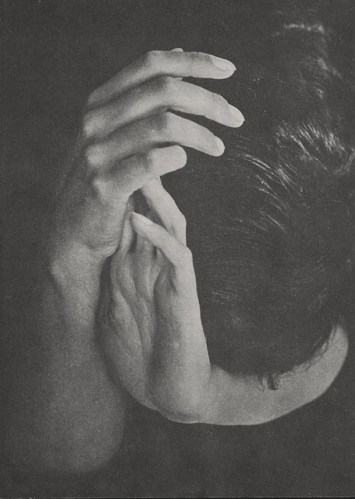 azorica:   Untitled (Les Mains), c. 1937 by Erwin Blumenfeld