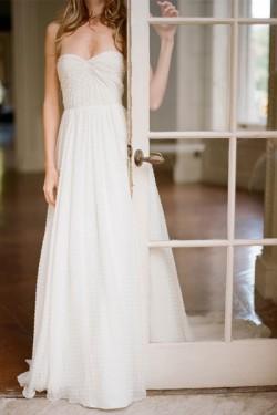 fashion wedding dress beading lace wedding dress white wedding dress