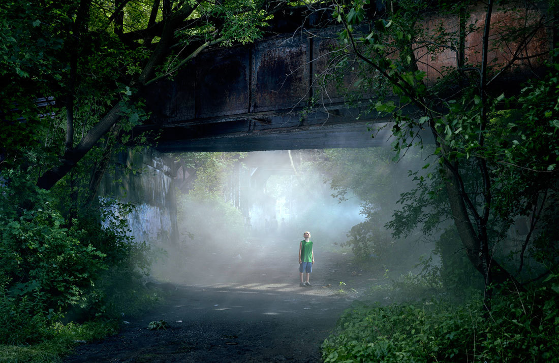 Gregory Crewdson - Untitled (Shane), from the series 'Beneath the Roses', 2006. Digital carbon print