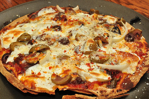 cravingsforfood:  Pizza.