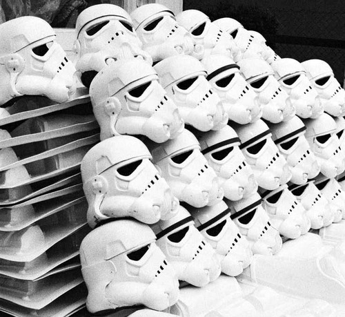 The Storm trooper factory…