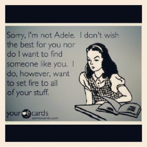 #adele #ecards #funny #lol #truth #instafunny #igdaily #igtrend #ighub  (Taken with Instagram)