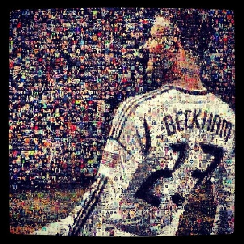 thisisjuke:  My hero. #icon #beckham #soccer #football #lagalaxy #british  (Taken with Instagram)