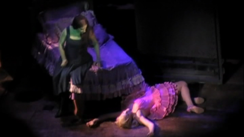 okay, who killed Galinda?  (lol, jk)