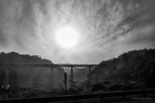 Old Railway Bridge in Cipularang, July 1, 2012.