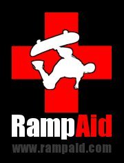 RampAid RampAid requested a revised version of their logo. The first image is the original logo the second one is the revised version I did. RampAid is a Somerset based, non-profit organisation, raising money to aid in the development of local community skate and BMX parks. http://www.rampaid.com/