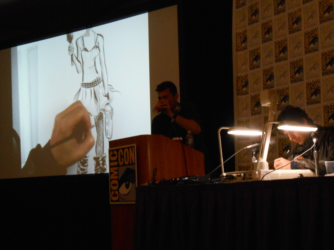 San Diego Comic-Con - 2012 CBLDF Rock Art Jam with Fabio Moon…