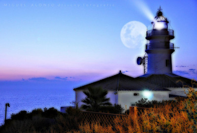 Faro de Cullera.- Lighthouse Cullera (Valencia) - Spain. via http://bit.ly/OVPe4r
