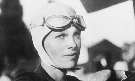 From the archive, 23 May 1932: A unique distinction for Amelia Earhart. Photograph: New York Times Co/Getty Images An image of a Lockheed Vega 5b is currently adorning Google's homepage to celebrate the 115th anniversary of the birthday of the American aviator.