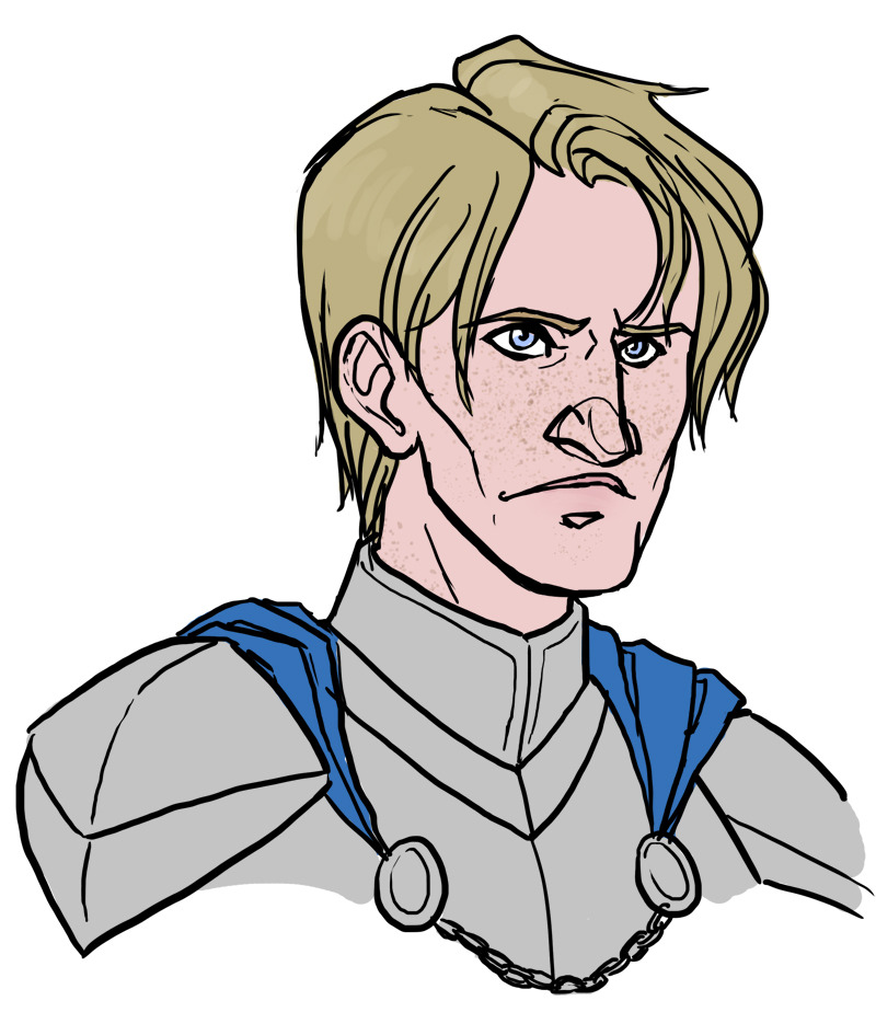 palaceoffunk:  Brienne is one of my favorites yet I still hadn't drawn her yet. Since I finally started reading A Feast for Crows and she has her own chapters now, I felt compelled to right that wrong.
