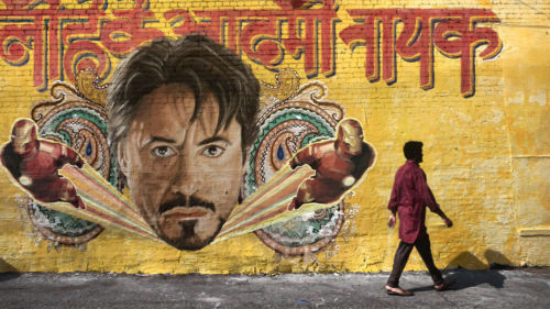 Iron Man murales (other Avengers inspired pics here)