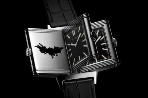 "Jaeger-LeCoultre Reverso ""The Dark Knight Rises"" Edition"