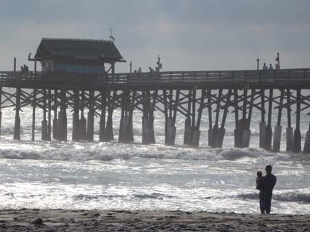 Cocoa Beach Pier, Sept. 2009.