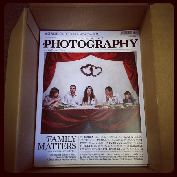 We just received the first copies of BJP's August issue #photography (Taken with Instagram)