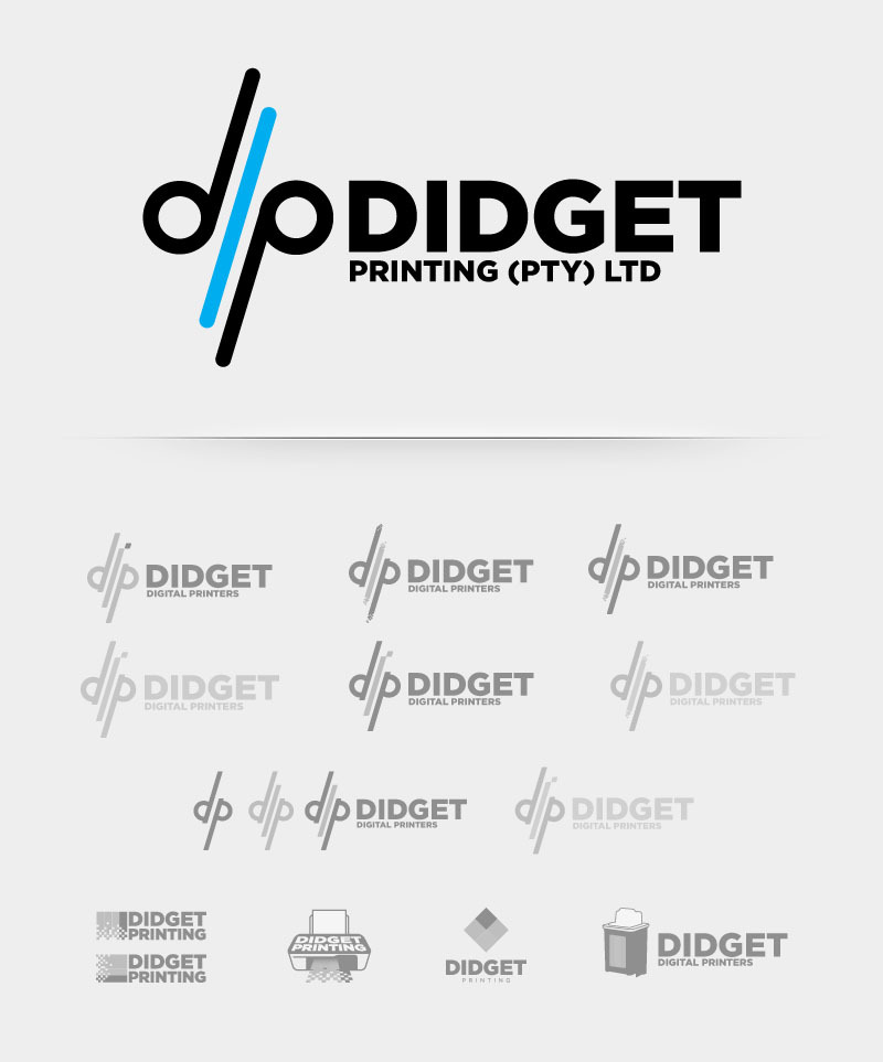 Didget digital printers logo development
