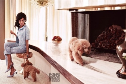 dolcegabbana:  Kerry Washington in Dolce&Gabbana for Vogue Italia, July 2012