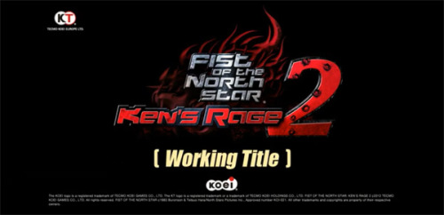Fist of the North Star: Ken's Rage 2 street date, details revealed. Multiple sites are reporting news about Fist of the North Star: Ken's Rage 2 leaked early from this week's edition of the Japanese gaming magazine Famitsu. The details are as follows: The game will be titled Shin Hokuto Musou in Japan. It's due for a December 2012 release in Japan. The game will feature a graphical style closer to Tetsuo Hara's drawing style. The game features nearly twice the content of its predecessor. As hinted in the teaser trailer, the video game will include the Land of Asura arc from Fist of the North Star 2. We'll have you covered as more specific information emerges. Source: siliconera.com, gamekult.com, hobbynews.us