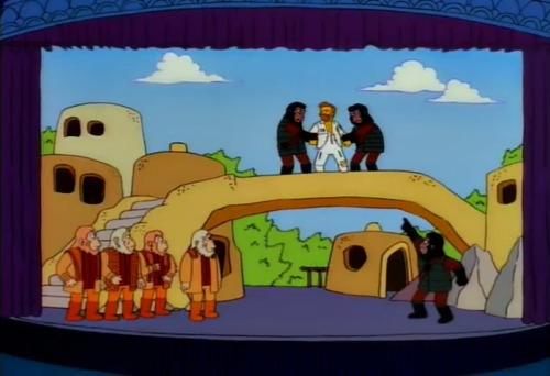 Las películas que aparecen en Los Simpson