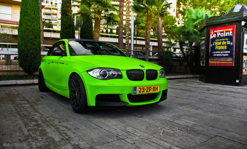 Lime. on Flickr.Via Flickr: GT Spirit's BMW Series 1 in Monaco 2012.