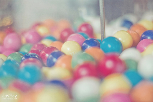 Colorful Bubblegum by JoyHey on Flickr.