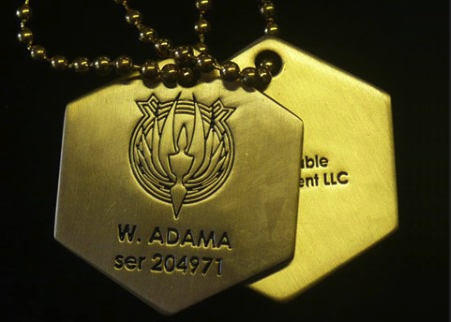 BSG Dog Tags I need these. I need them so bad. Give them to me.