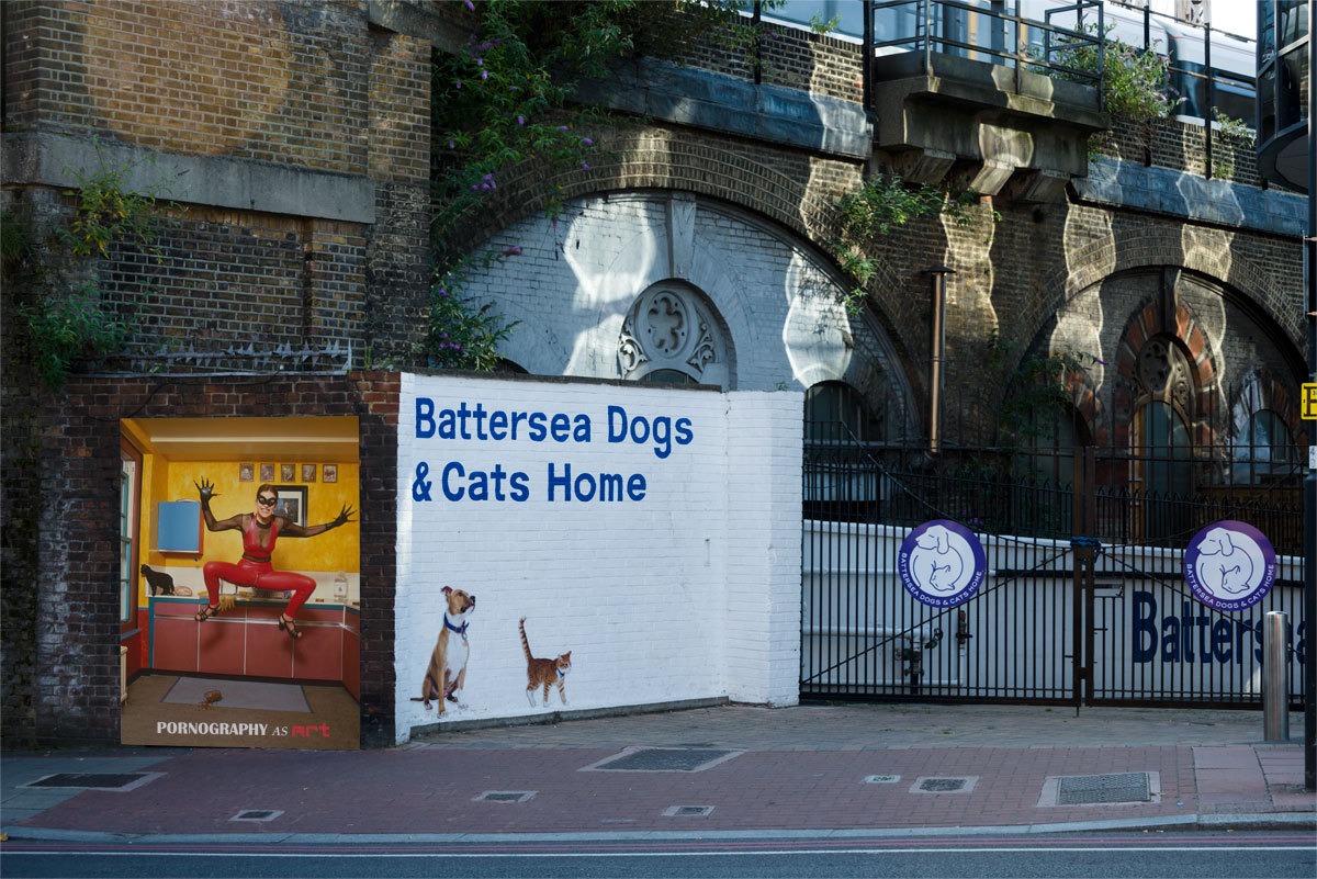 Battersea Dogs Home at porn-as-art.tumblr.com