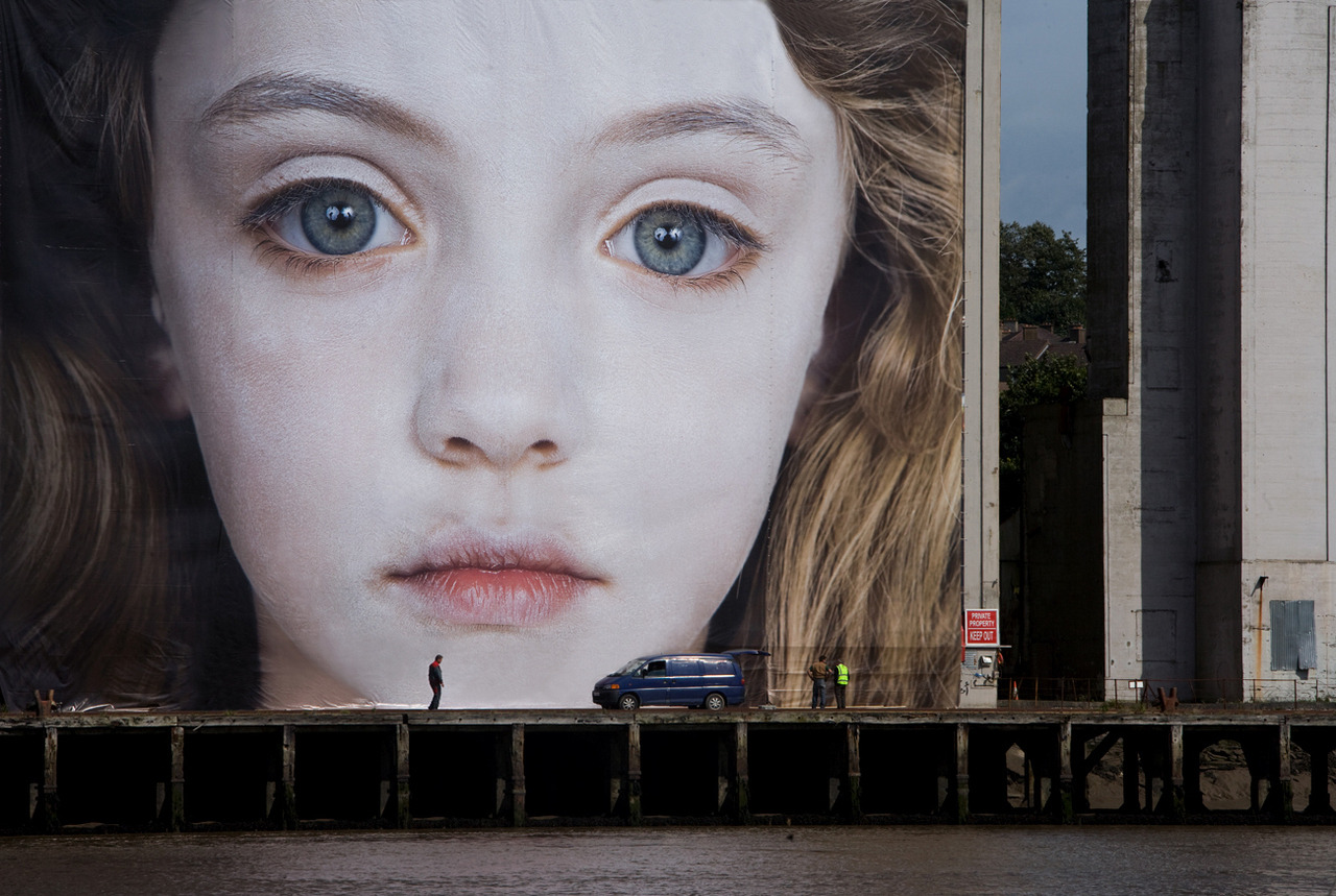Gottfried Helnwein via but does it float