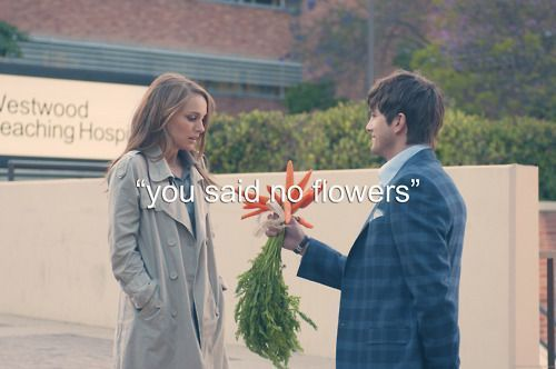 'You said no flowers.'