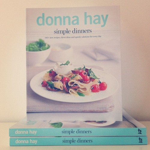 simple dinners by Donna Hay coming out in October 2012! (Taken with Instagram)